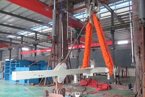 425T風電吊梁試驗